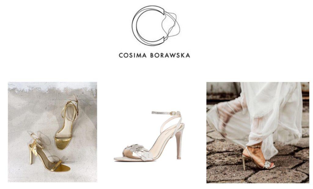 Obuwie ślubne Cosima Borawska